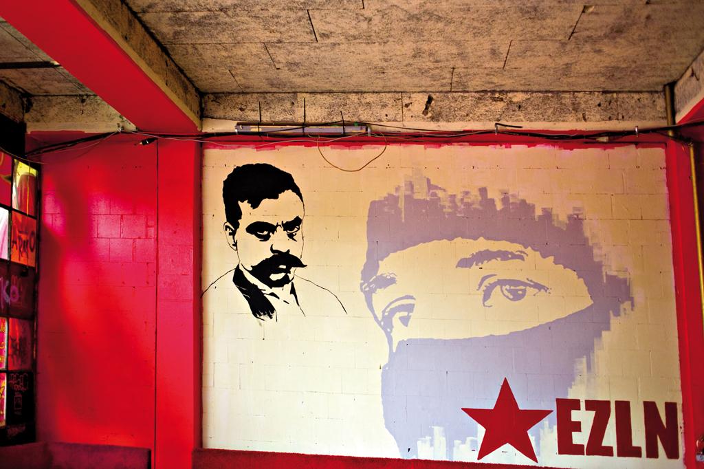 01 Subcomandante Marcos. Berlin 2008