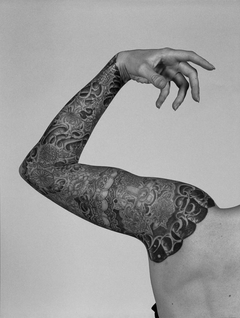 Alberto García Alix.El brazo de Ana. 1992