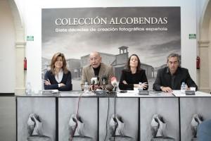 Rueda de prensa el día de la inauguración. Almería 2009