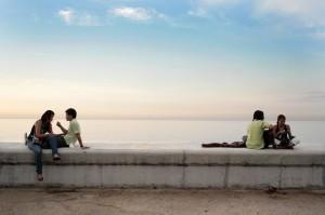 El Malecón escucha y recibe a todos, de manera especial a la buena gente.
