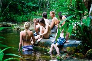 Hotel de lujo en la selva amazónica. manaus, 2010